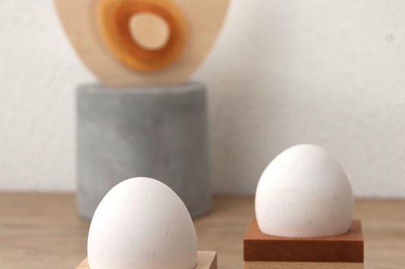 Moderne Eierbecher