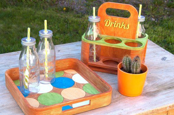 Picknickzeit − Flaschenträger