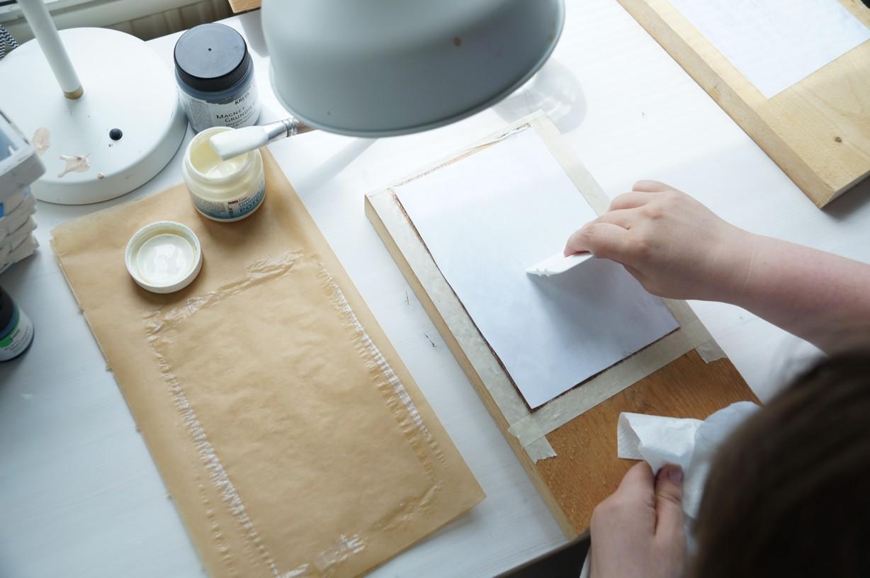 bilder mit foto transfer potch auf holz bertragen feinschnittkreativ. Black Bedroom Furniture Sets. Home Design Ideas
