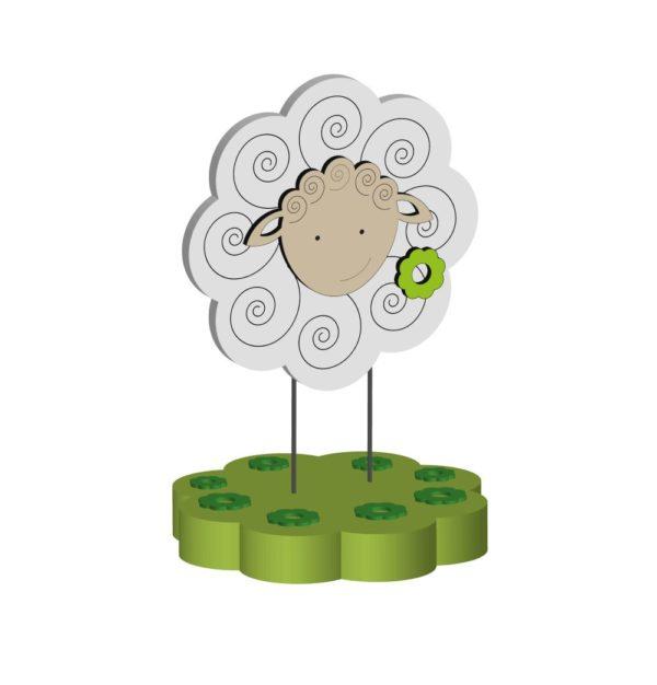 Dekupiersägevorlage für Schafe