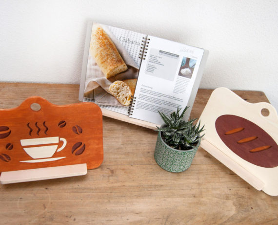 Guten Appetit – Kochbuch- bzw. Tablethalter