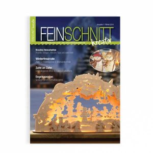 FEINSCHNITTkreativ Erstausgabe | Magazin für die Laub- und Dekupiersägearbeiten