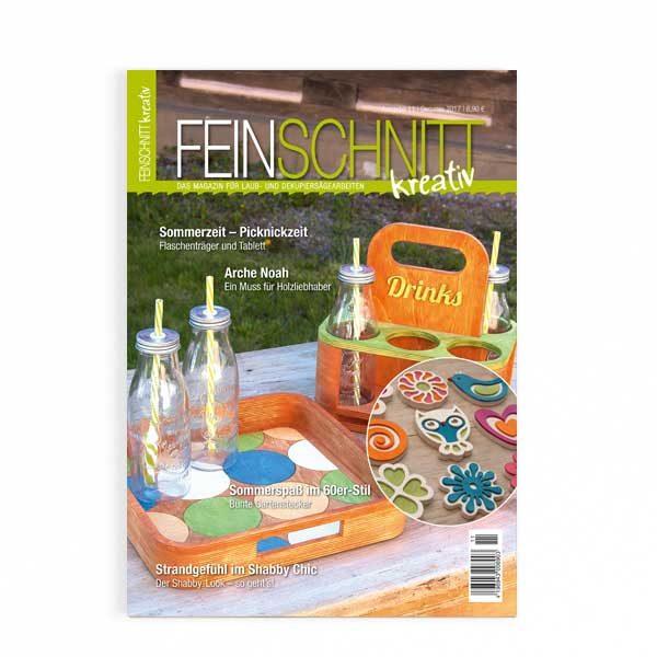 FEINSCHNITTkreativ Ausgabe 11 | Magazin für Laub- und Dekupiersägearbeiten