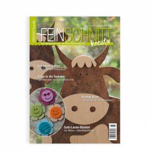 FEINCSCHNITTkreativ Ausgabe 15 | Magazin für Laub- und Dekupiersägearbeiten