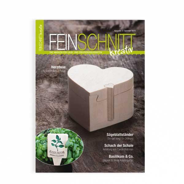 FEINSCHNITTkreativ Ausgabe 3 | Magazin für Laub- und Dekupiersägearbeiten