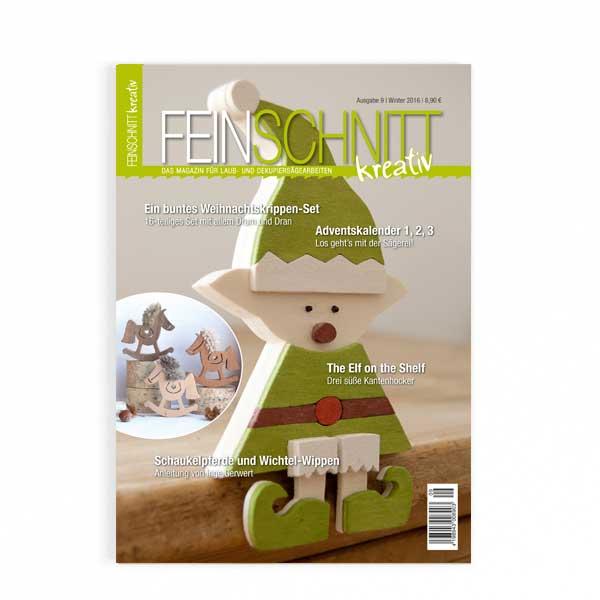 FEINSCHNITTkreativ Ausgabe 9 | Magazin für Laub- und Dekupiersägearbeiten