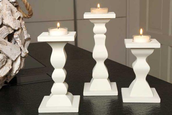 Kerzenständer im 3-D-Schnitt