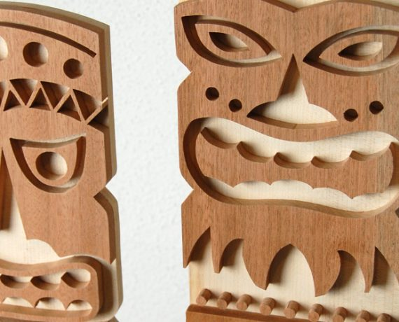 Tiki-Masken
