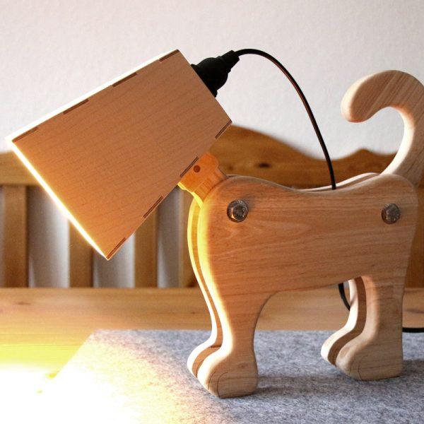 DIY-Projekt Hundelampe