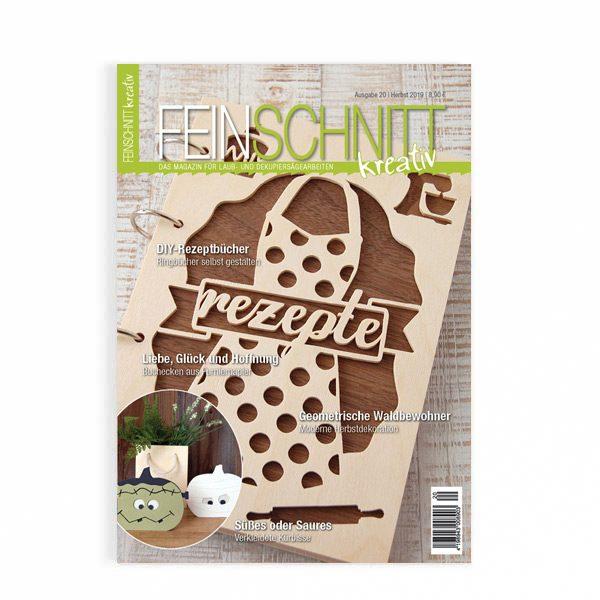Herbstausgabe DIY-Zeitschrift FEINSCHNITTkreativ
