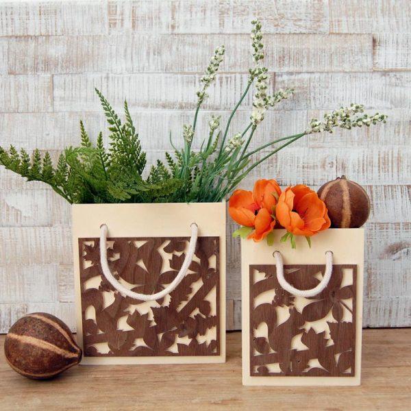 Herbsttaschen | DIY-Projekt aus Holz