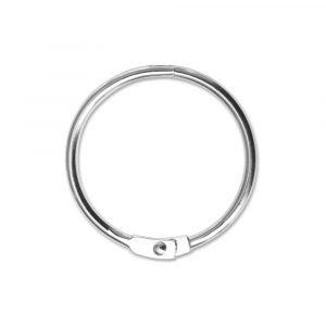 Verbindungsringe für Ringbücher aus vernickeltem Stahl, 31 mm Durchmesser