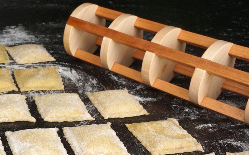 Nudeholz für Ravioli: DIY-Projet für die Dekupiersäge