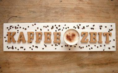 Beizen mit Kaffeesatz