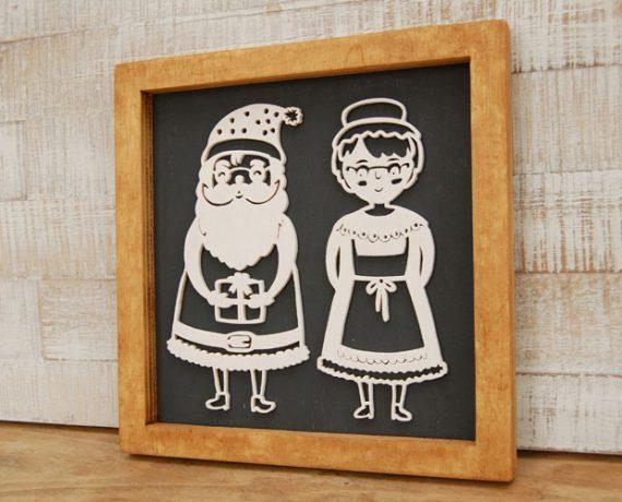 Mr. & Mrs. Santa
