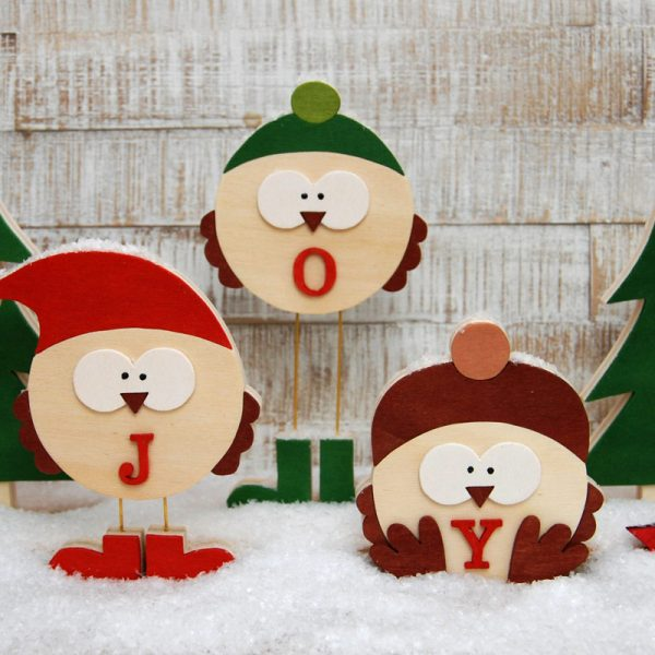 Laubsägevorlage Weihnachtsspatzen