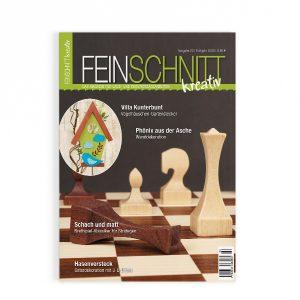 FEINSCHNITTkreativ Ausgabe 22 | Magazin für Laub- und Dekupiersägearbeiten