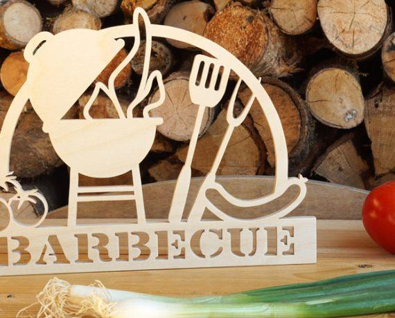 Barbecue | Deko-Schild für die Outdoor-Küche