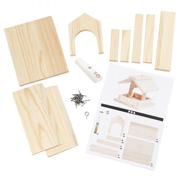 Futterstelle für Vogel | DIY-Projekt aus Holz
