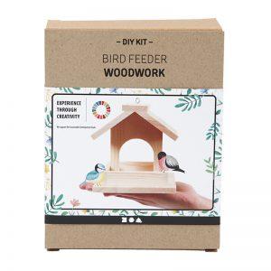 Vogelfutterhäuschen | Bausatz aus Kiefernholz