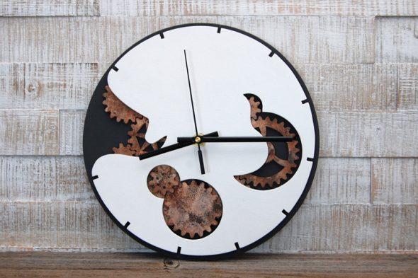 Steampunk-Uhr