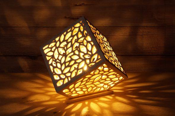 Würfellampe